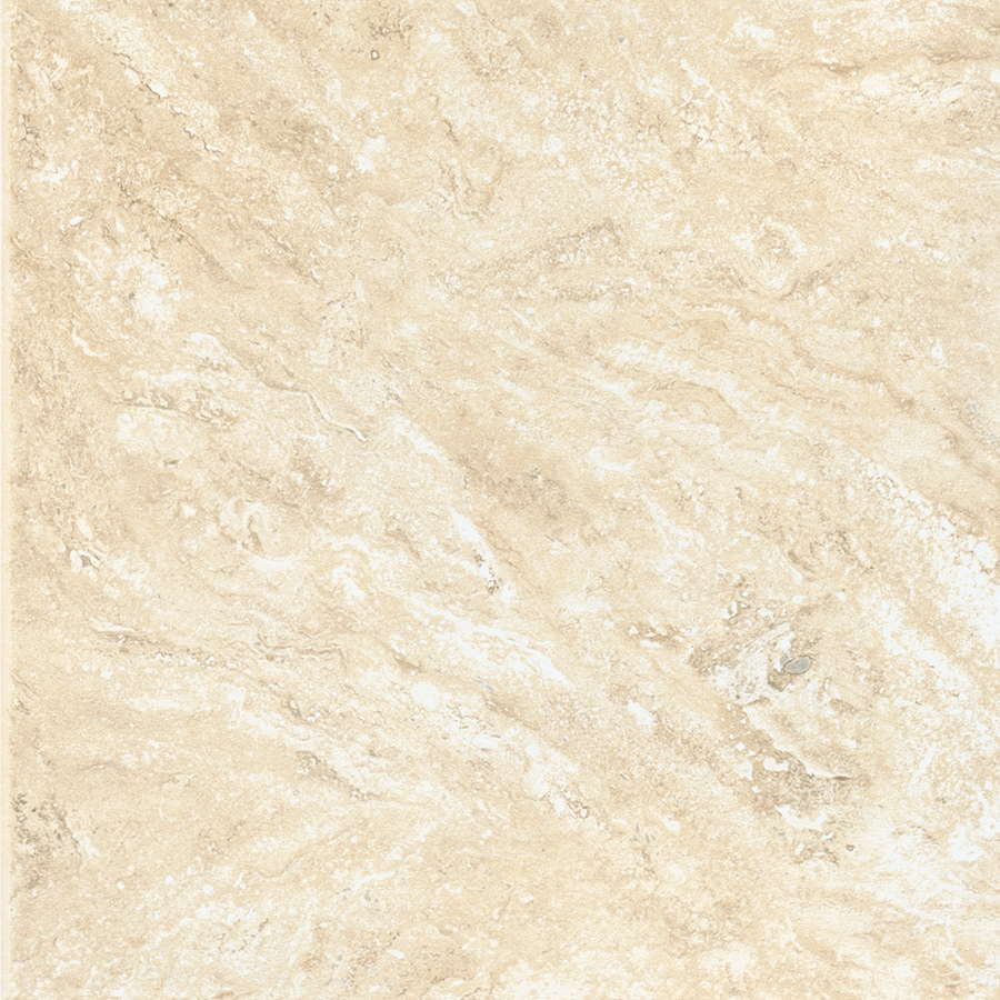American Olean Salcedo 8-Pack Durango Cream Ceramic Floor and Wall Tile (Common: 18-in x 18-in; Actual: 17.75-in x 17.75-in)