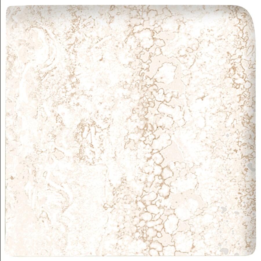 American Olean Salcedo Durango Cream Ceramic Bullnose Corner Tile (Common: 3-in x 3-in; Actual: 3-in x 3-in)