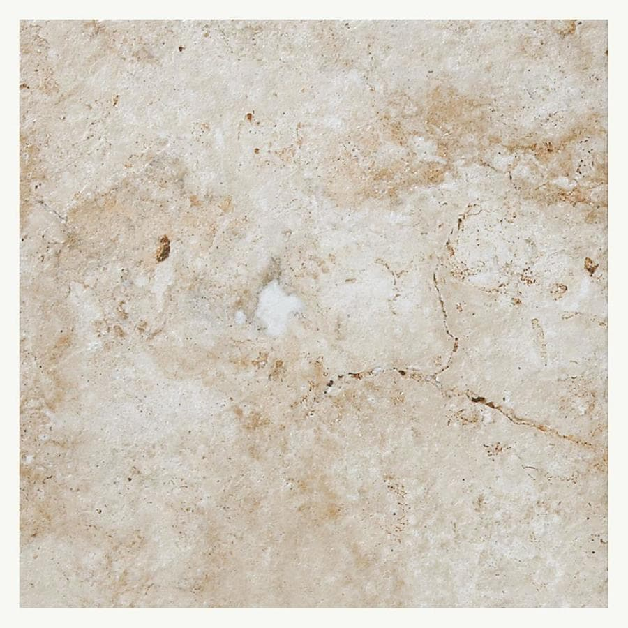 American Olean Bordeaux 14-Pack Creme Porcelain Floor and Wall Tile (Common: 13-in x 13-in; Actual: 13.12-in x 13.12-in)