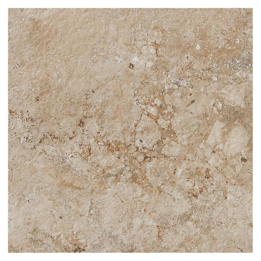 American Olean Bordeaux 14-Pack Chameau Porcelain Floor and Wall Tile (Common: 13-in x 13-in; Actual: 13.12-in x 13.12-in)