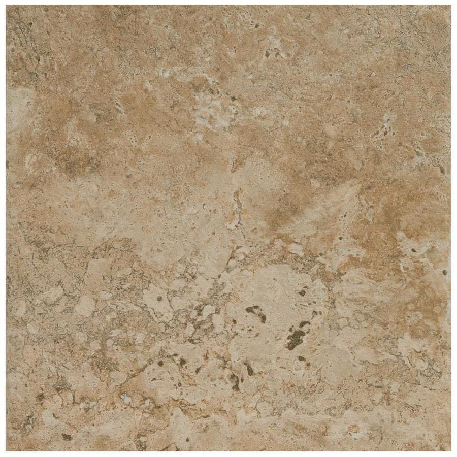 American Olean Bordeaux 6-Pack Marron Porcelain Floor and Wall Tile (Common: 19-in x 19-in; Actual: 19.75-in x 19.75-in)