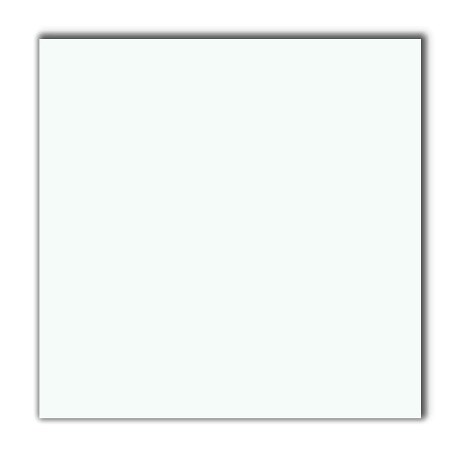 American Olean 11-Pack 12-in x 12-in Antarctic White Ceramic Floor Tile (Actuals 12-in x 12-in)