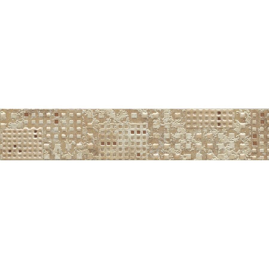 American Olean Bordeaux Universal Ceramic Listello Tile (Common: 2-in x 10-in; Actual: 1.99-in x 9.84-in)