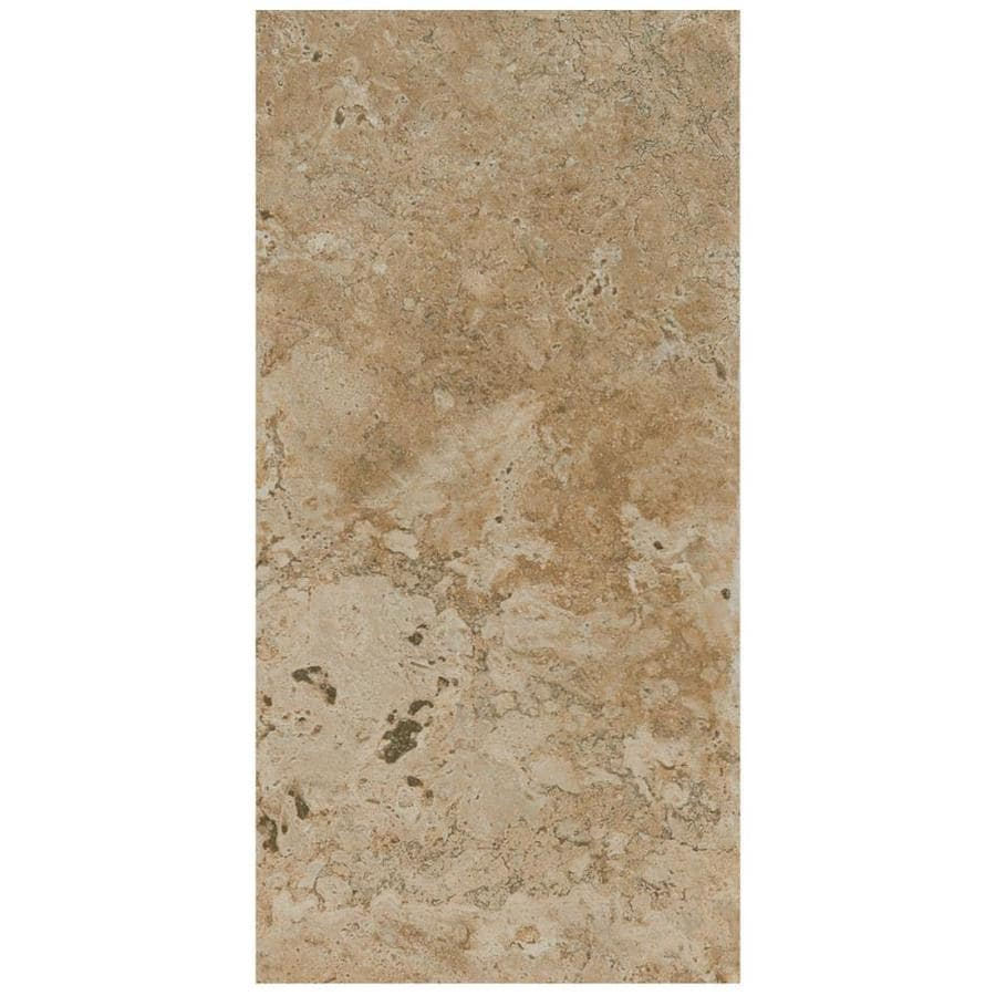 American Olean Bordeaux 7-Pack Marron Porcelain Floor and Wall Tile (Common: 13-in x 20-in; Actual: 13.12-in x 19.75-in)