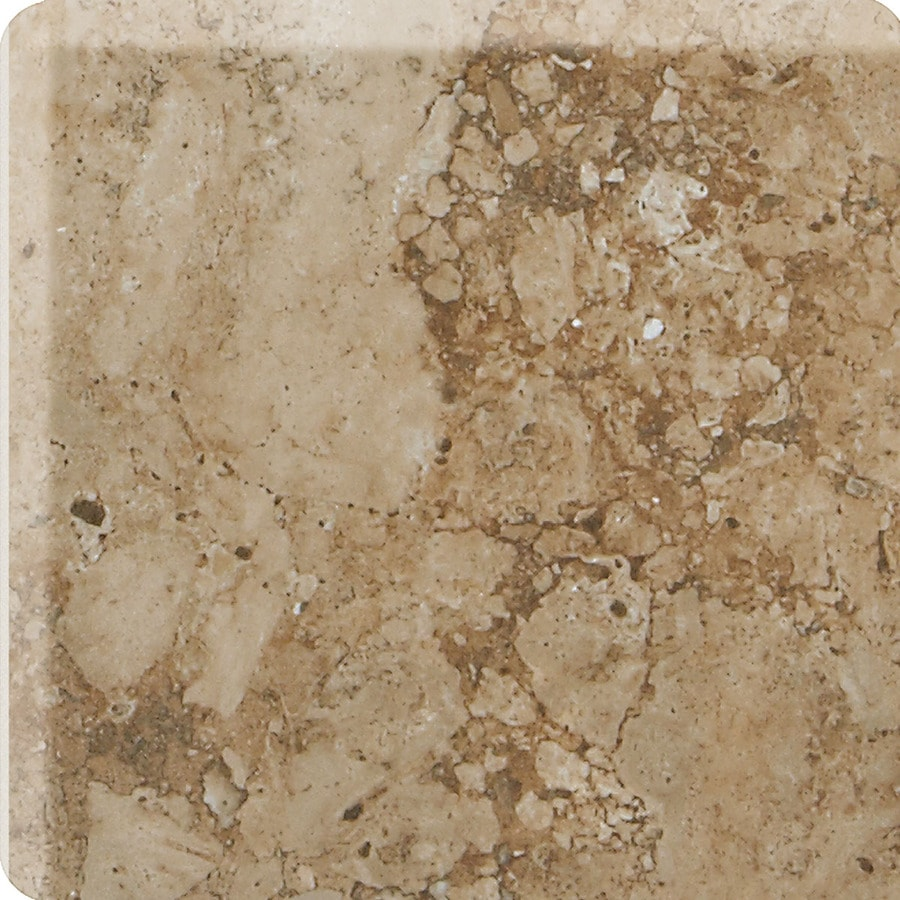 Shop American Olean Bordeaux Marron Ceramic Bullnose Tile