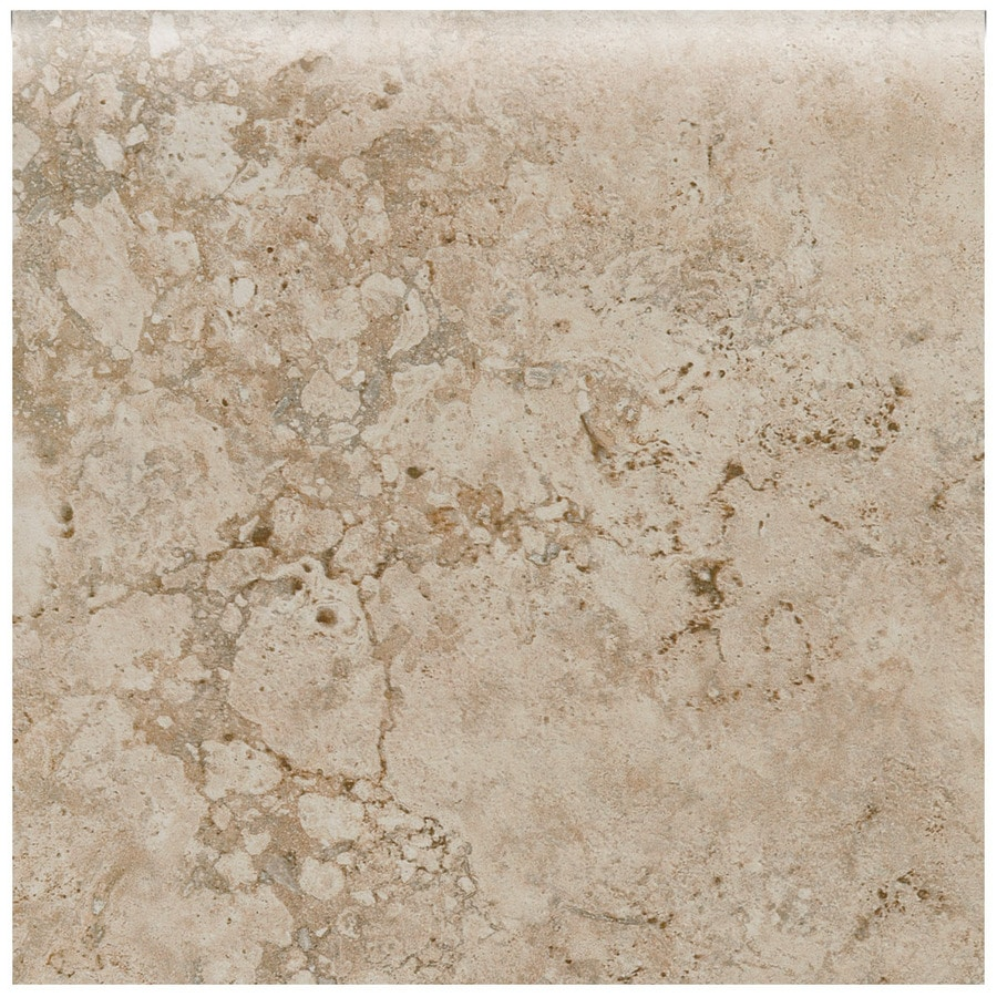 American Olean Bordeaux Chameau Porcelain Bullnose Tile (Common: 3-in x 12-in; Actual: 12-in x 3-in)
