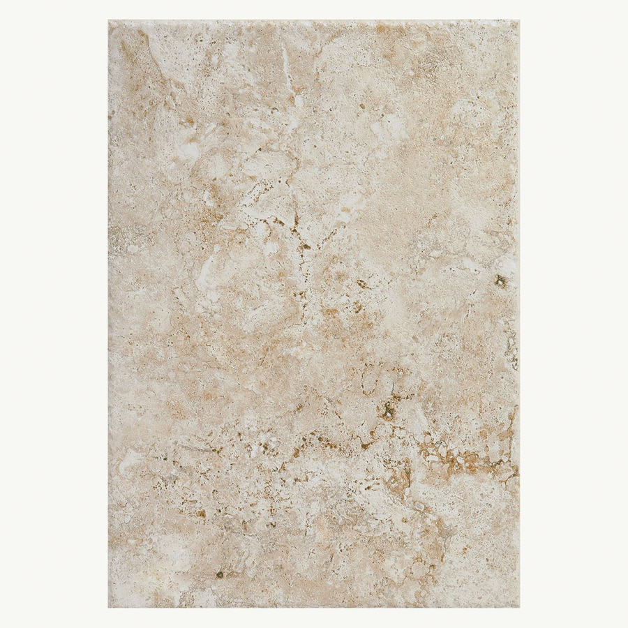American Olean Bordeaux 15-Pack Creme Ceramic Wall Tile (Common: 10-in x 14-in; Actual: 9.84-in x 13.96-in)