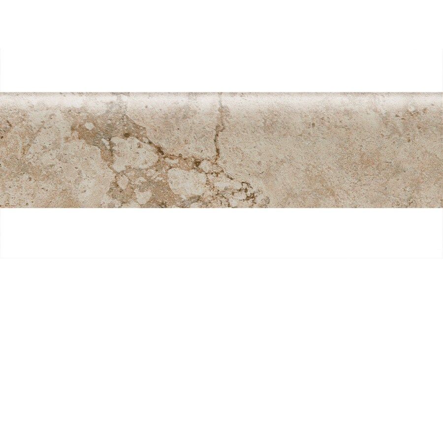 American Olean Bordeaux Chameau Porcelain Bullnose Tile (Common: 3-in x 13-in; Actual: 3-in x 13.12-in)