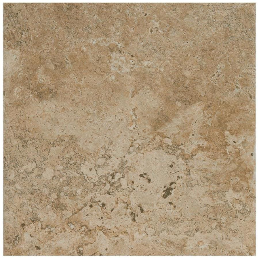 American Olean Bordeaux 54-Pack Marron Porcelain Floor and Wall Tile (Common: 6-in x 6-in; Actual: 6.5-in x 6.5-in)