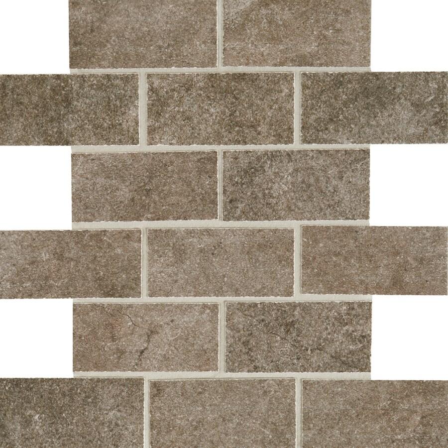 Shop american olean avante 12 pack nebbia mosaic ceramic floor tile american olean avante 12 pack nebbia mosaic ceramic floor tile common 12 dailygadgetfo Gallery