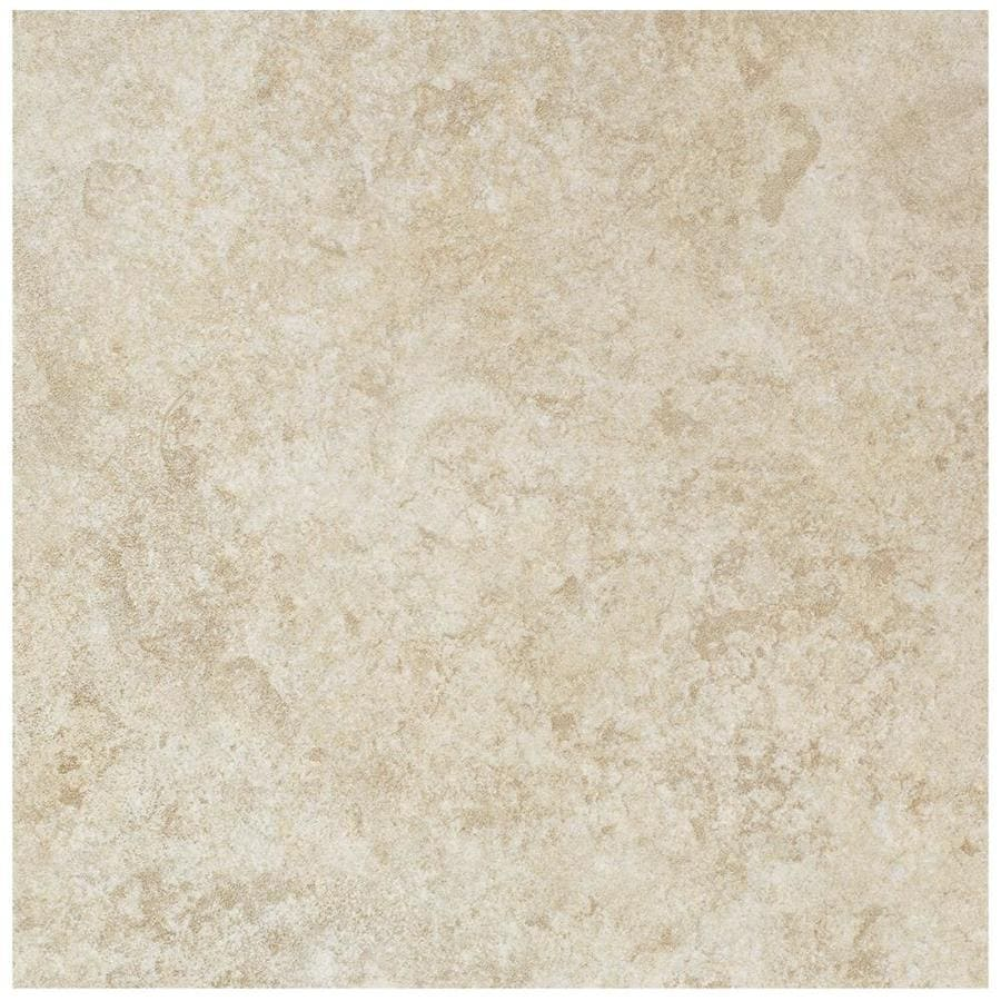American Olean Castlegate 15-Pack Beige Porcelain Floor and Wall Tile (Common: 12-in x 12-in; Actual: 11.81-in x 11.81-in)