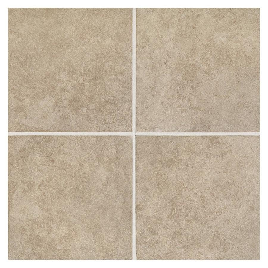 American Olean Castlegate 15-Pack Gray Porcelain Floor and Wall Tile (Common: 12-in x 12-in; Actual: 11.81-in x 11.81-in)