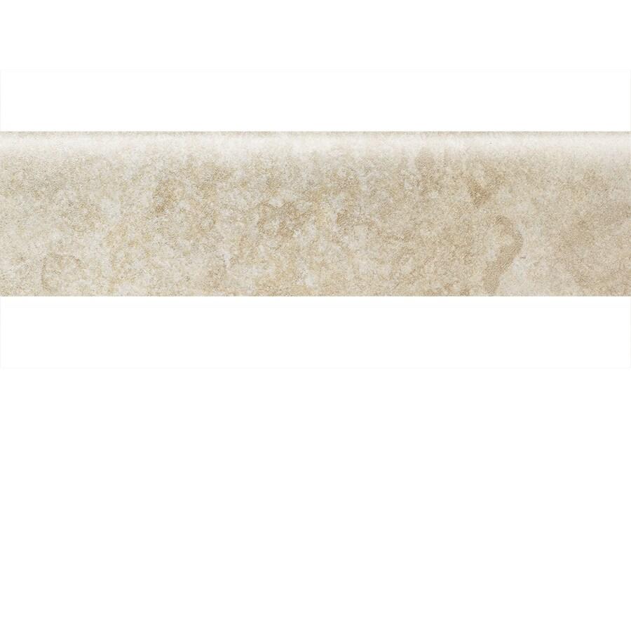 American Olean Castlegate Beige Porcelain Bullnose Tile (Common: 3-in x 12-in; Actual: 2.87-in x 11.81-in)