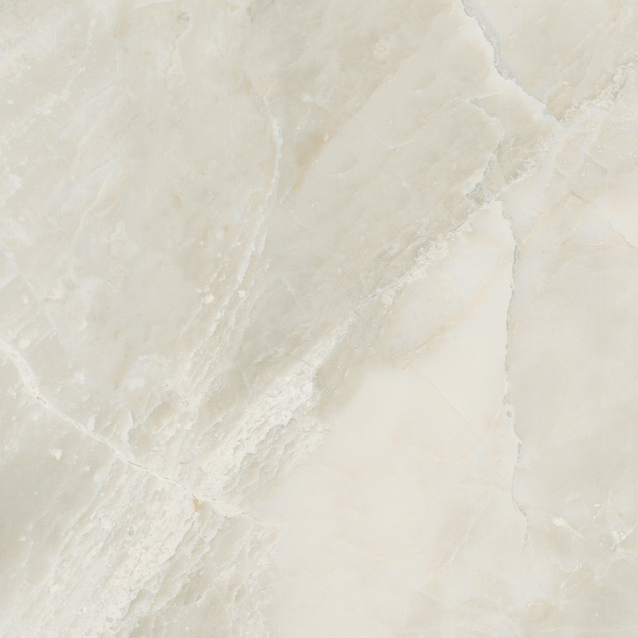 American Olean Mirasol 11-Pack Silver Marble Porcelain Floor and Wall Tile (Common: 12-in x 12-in; Actual: 11.5-in x 11.5-in)