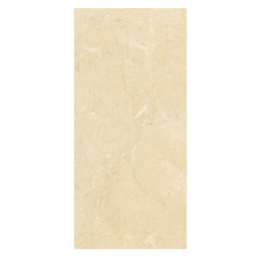 American Olean Mirasol 10-Pack Crema Laila Ceramic Wall Tile (Common: 10-in x 14-in; Actual: 9.84-in x 13.75-in)