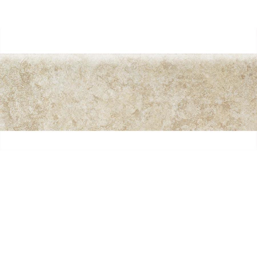 American Olean Castlegate Beige Ceramic Bullnose Tile (Common: 3-in x 9-in; Actual: 3-in x 9-in)