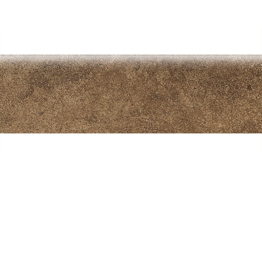 American Olean Castlegate Brown Ceramic Bullnose Tile (Common: 3-in x 9-in; Actual: 3-in x 9-in)