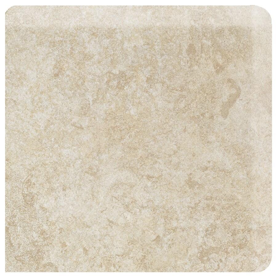 American Olean Castlegate Beige Ceramic Bullnose Corner Tile (Common: 3-in x 3-in; Actual: 3-in x 3-in)
