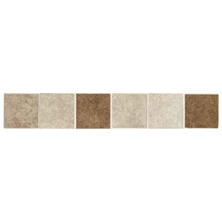 American Olean Castlegate Universal Porcelain Bullnose Tile (Common: 2-in x 12-in; Actual: 2-in x 12-in)