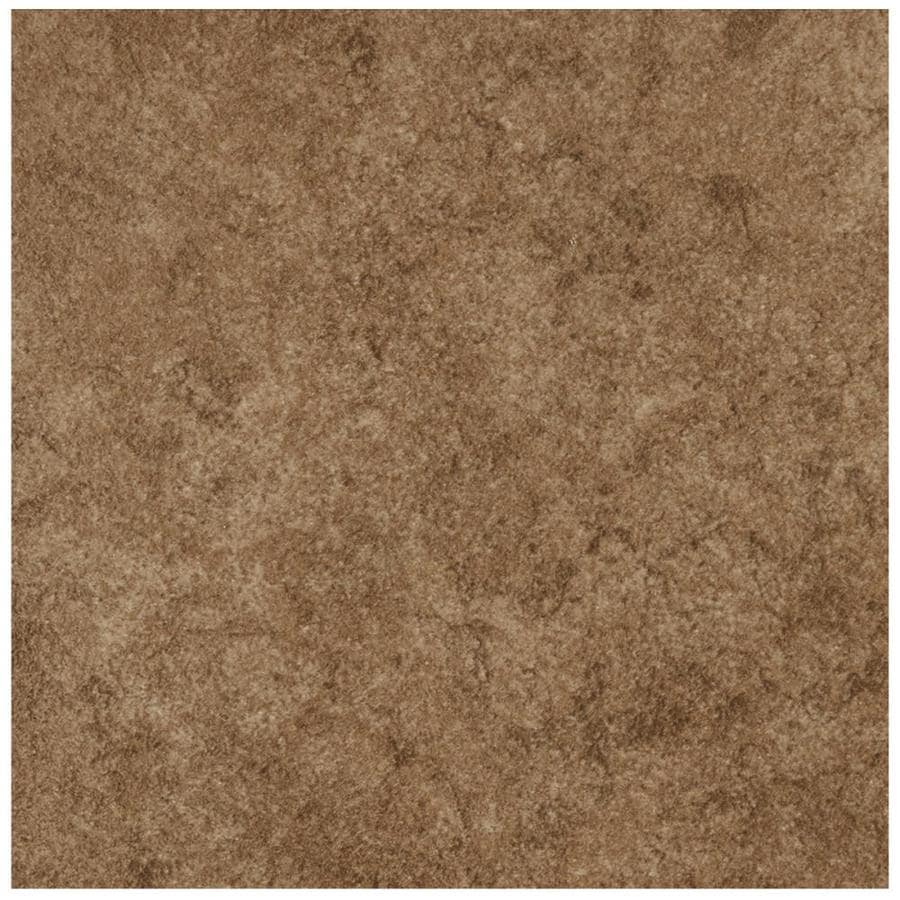 American Olean Castlegate 8-Pack Brown Porcelain Floor and Wall Tile (Common: 17-in x 17-in; Actual: 17.75-in x 17.75-in)