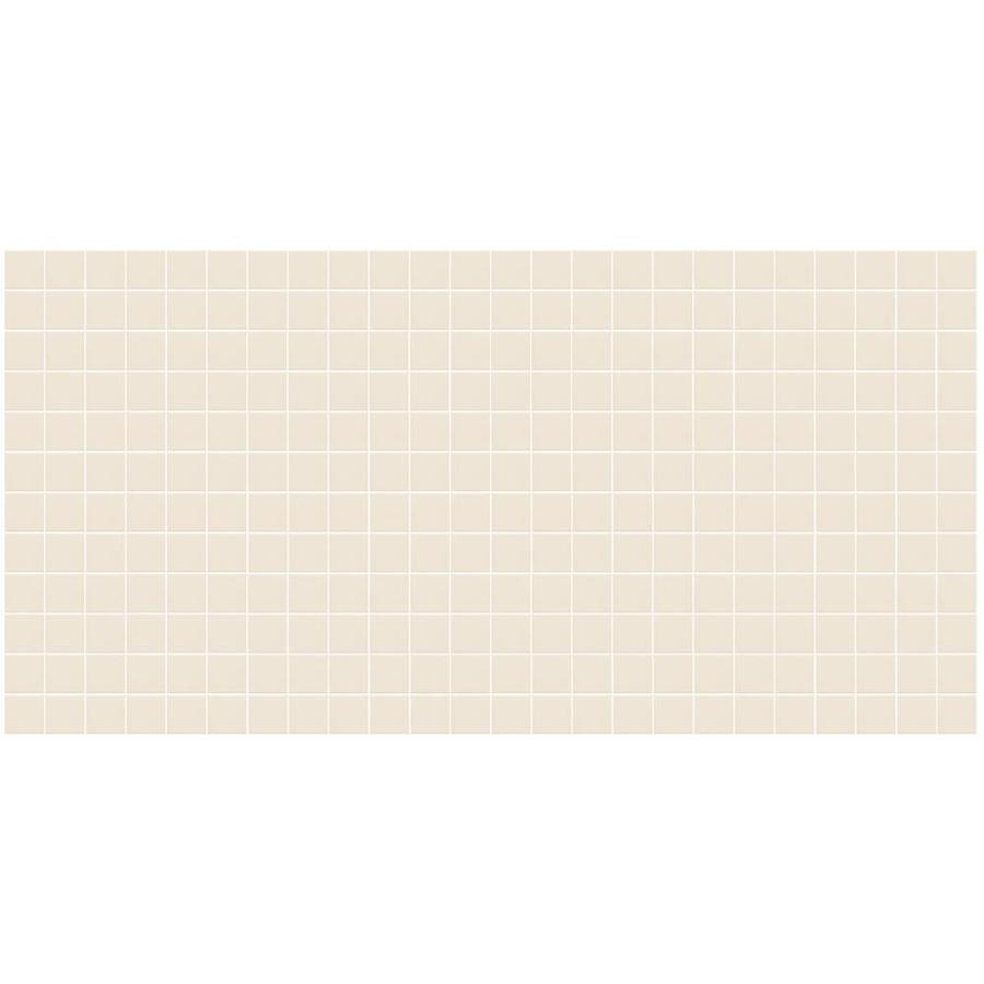 American Olean Unglazed Porcelain Mosaics Abrasive 12-Pack Biscuit Uniform Squares Mosaic Thru Body Porcelain Floor and Wall Tile (Common: 12-in x 24-in; Actual: 11.93-in x 23.93-in)
