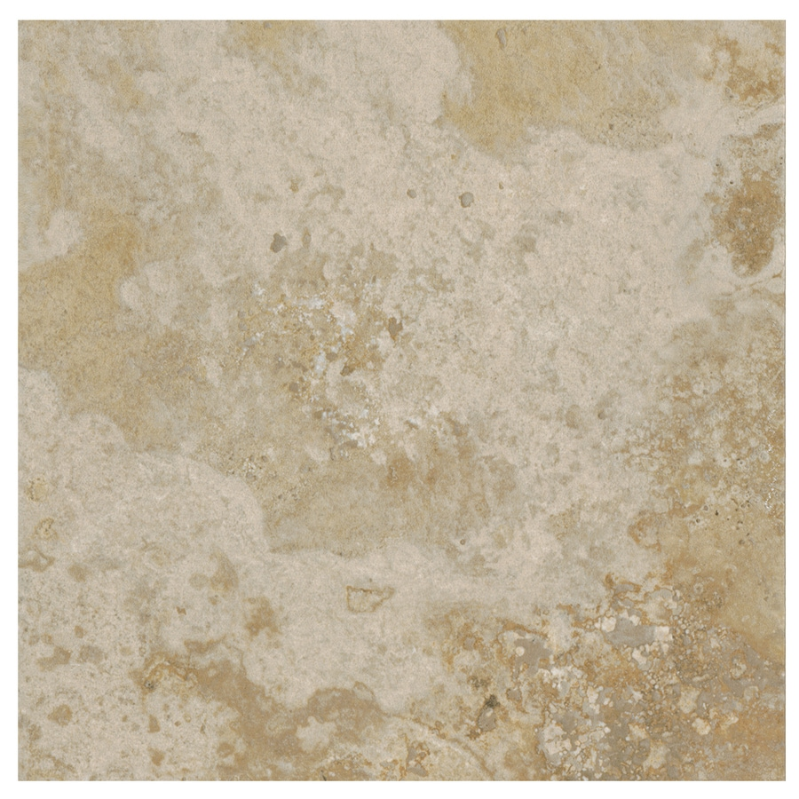 American Olean Stone Claire 54-Pack Bluff Porcelain Floor and Wall Tile (Common: 6-in x 6-in; Actual: 6.43-in x 6.43-in)