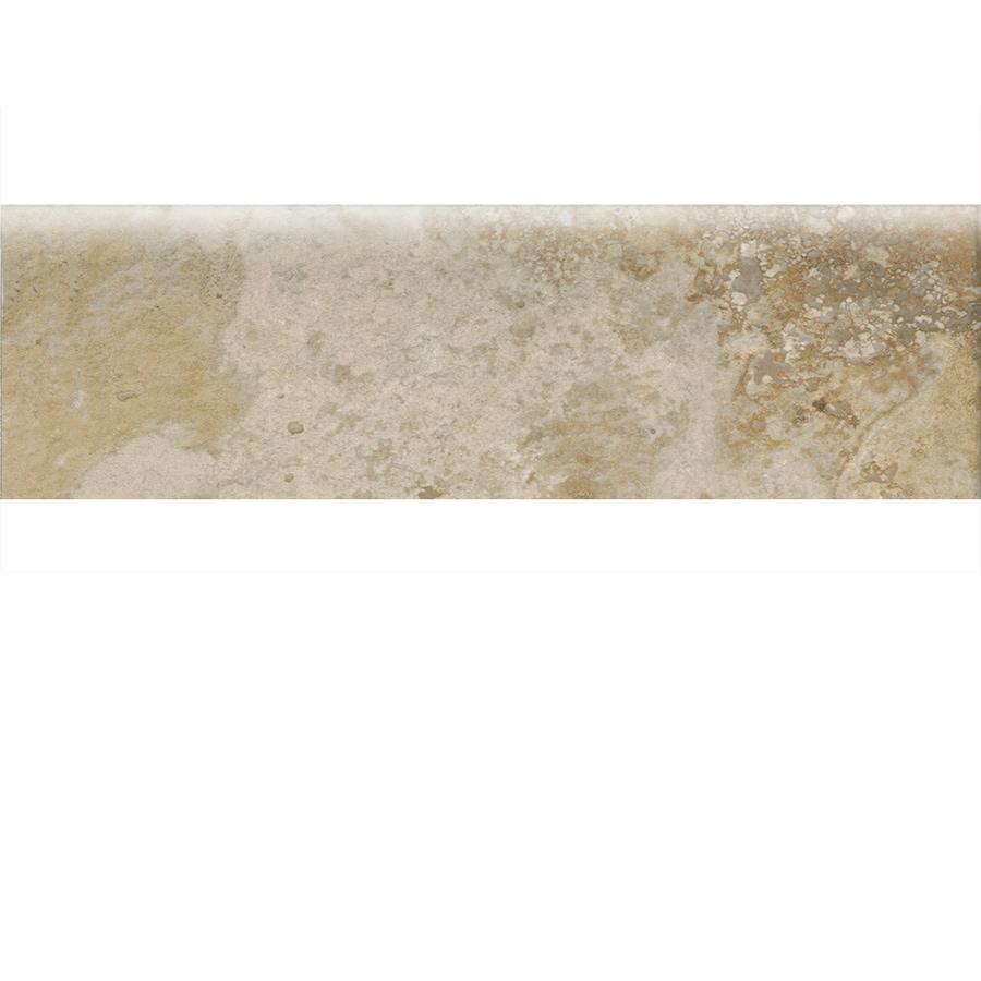 American Olean Stone Claire Bluff Ceramic Bullnose Tile (Common: 3-in x 10-in; Actual: 3-in x 10-in)