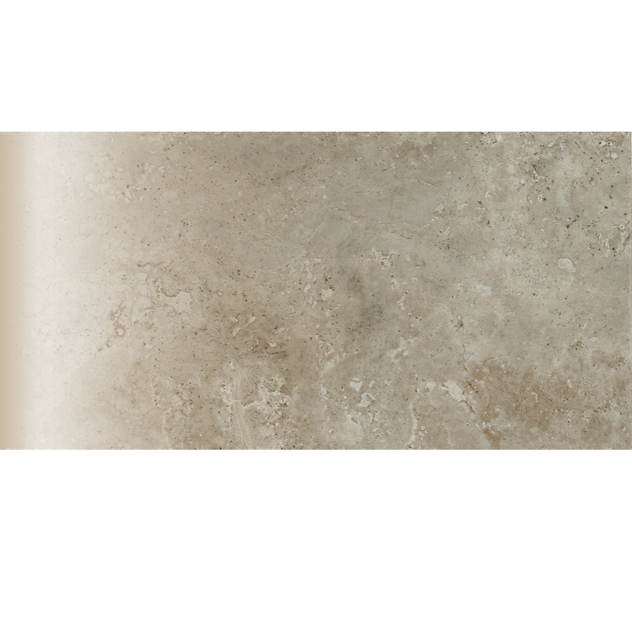 American Olean Stone Claire Ashen Ceramic Bullnose Tile (Common: 3-in x 6-in; Actual: 3-in x 6-in)