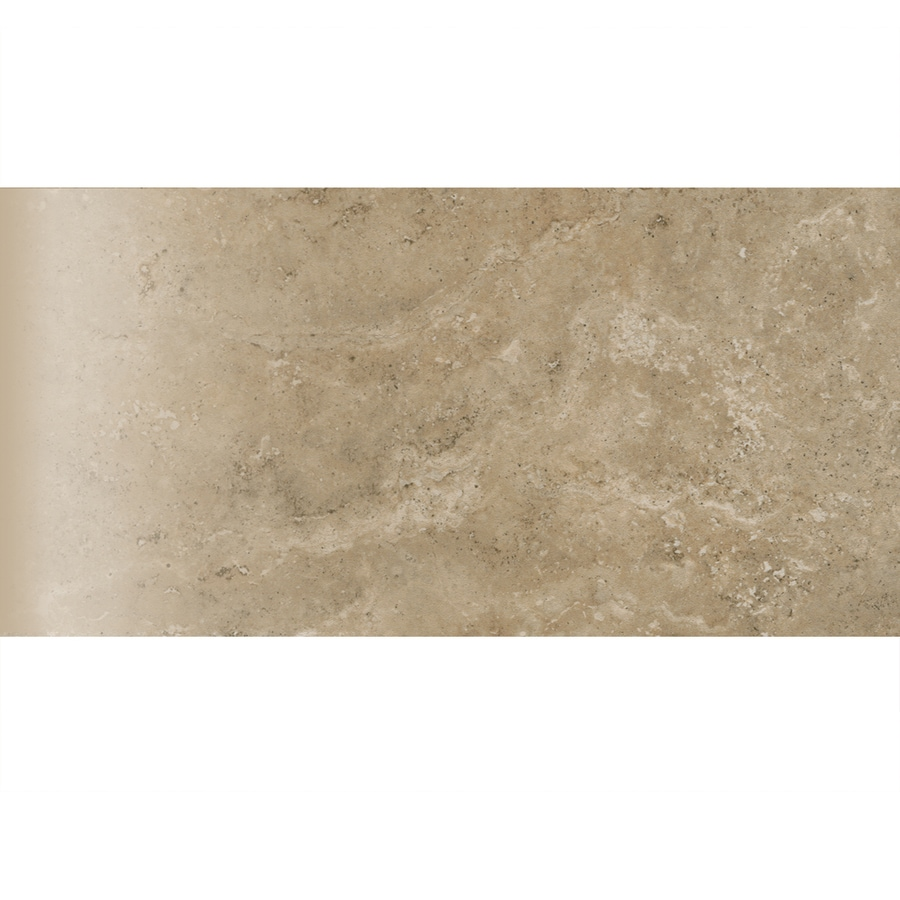 American Olean Stone Claire Russet Ceramic Bullnose Tile (Common: 3-in x 6-in; Actual: 3-in x 6-in)