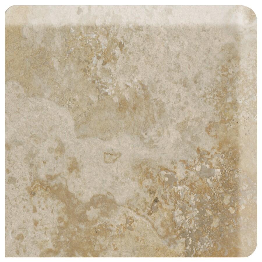 American Olean Stone Claire Bluff Ceramic Bullnose Corner Tile (Common: 3-in x 3-in; Actual: 3-in x 3-in)