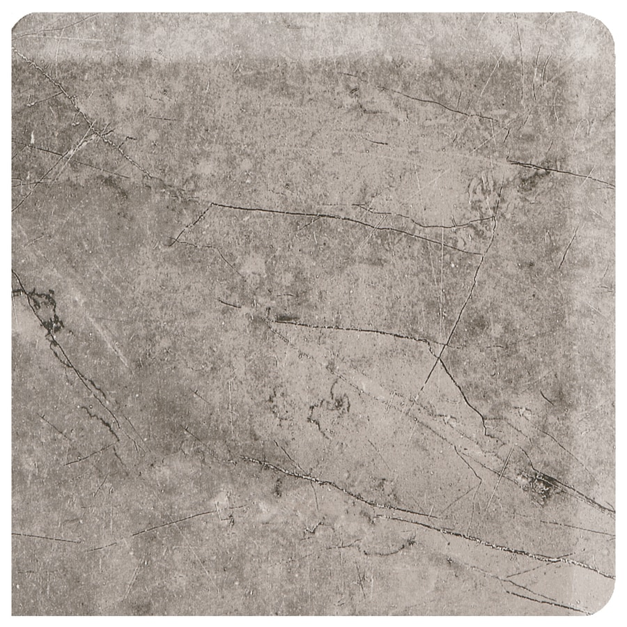American Olean Bevalo Mist Ceramic Bullnose Tile (Common: 3-in x 3-in; Actual: 2.99-in x 2.99-in)