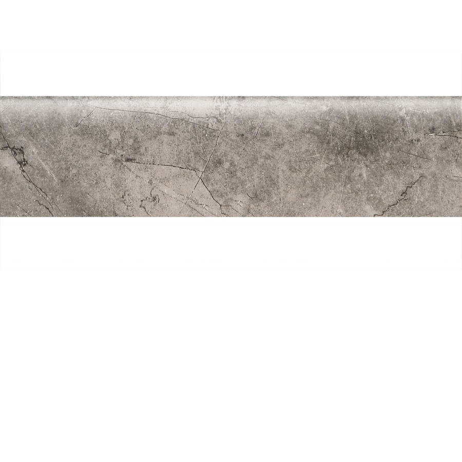 American Olean Bevalo Mist Ceramic Bullnose Tile (Common: 3-in x 12-in; Actual: 2.87-in x 12-in)