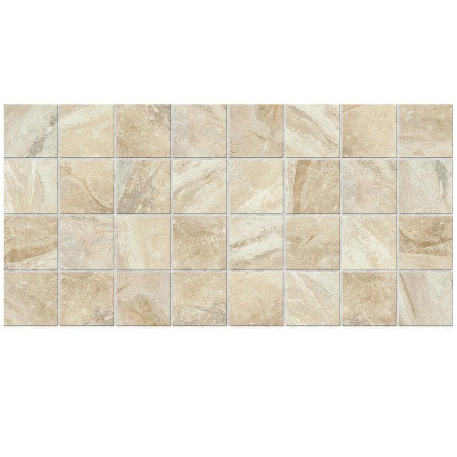 American Olean Danya 12-Pack Cove Uniform Squares Mosaic Ceramic Floor and Wall Tile (Common: 12-in x 24-in; Actual: 11.68-in x 23.62-in)