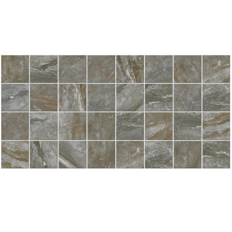 American Olean Danya 12-Pack Basin Uniform Squares Mosaic Ceramic Floor and Wall Tile (Common: 12-in x 24-in; Actual: 11.68-in x 23.62-in)