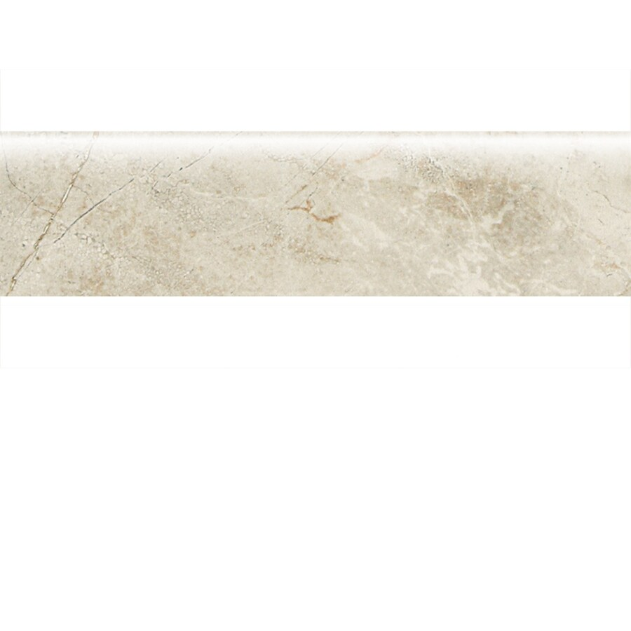 American Olean Danya Stream Porcelain Bullnose Tile (Common: 3-in x 12-in; Actual: 2.93-in x 11.81-in)