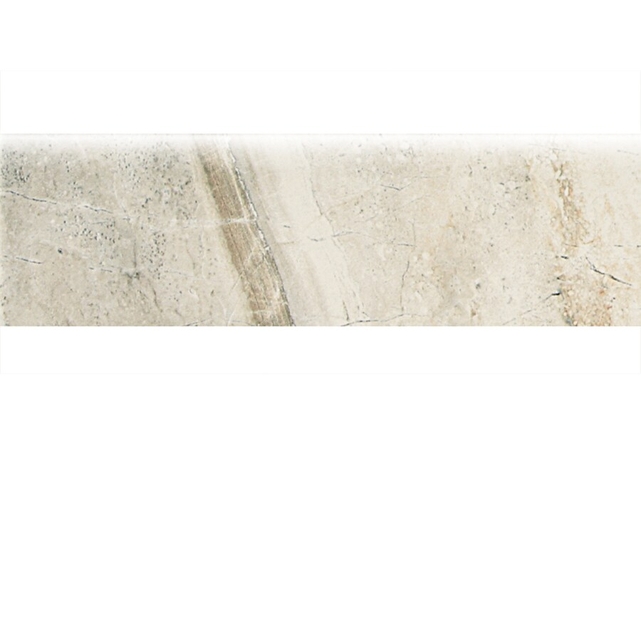 American Olean Danya Stream Ceramic Bullnose Tile (Common: 3-in x 10-in; Actual: 3-in x 10-in)