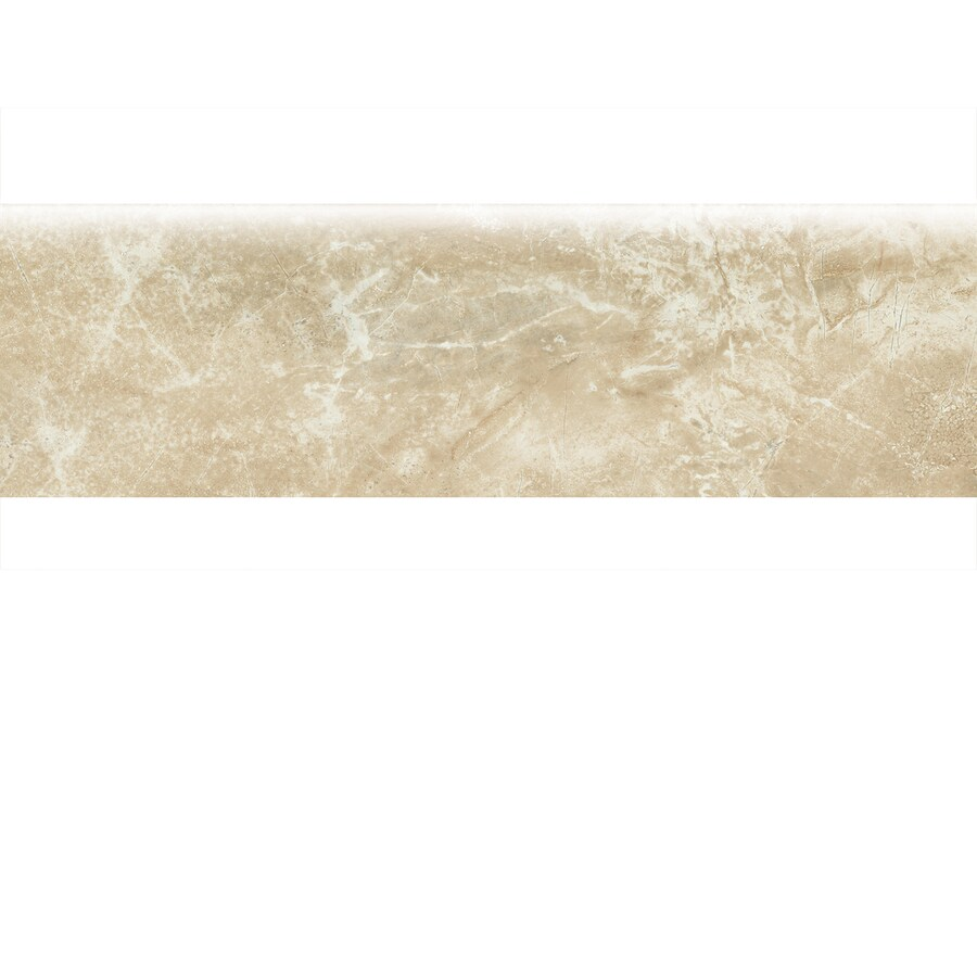 American Olean Danya Cove Ceramic Bullnose Tile (Common: 3-in x 10-in; Actual: 3-in x 10-in)