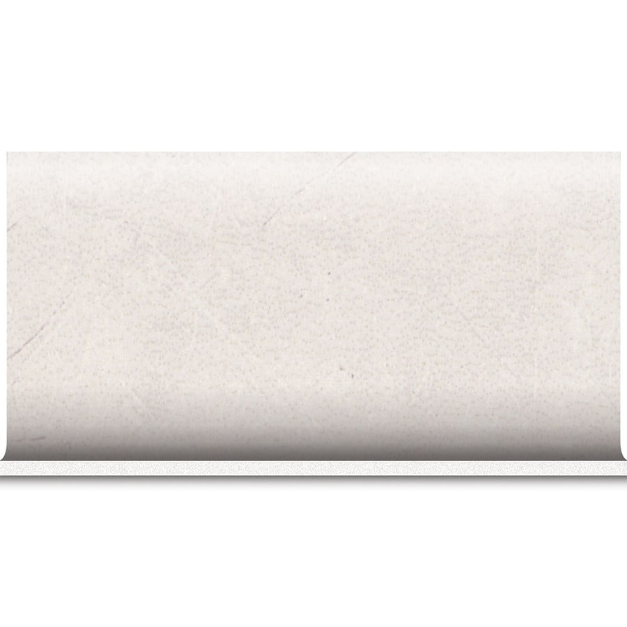 American Olean Bevalo Dove Ceramic Bullnose Tile (Common: 6-in x 12-in; Actual: 6-in x 12-in)