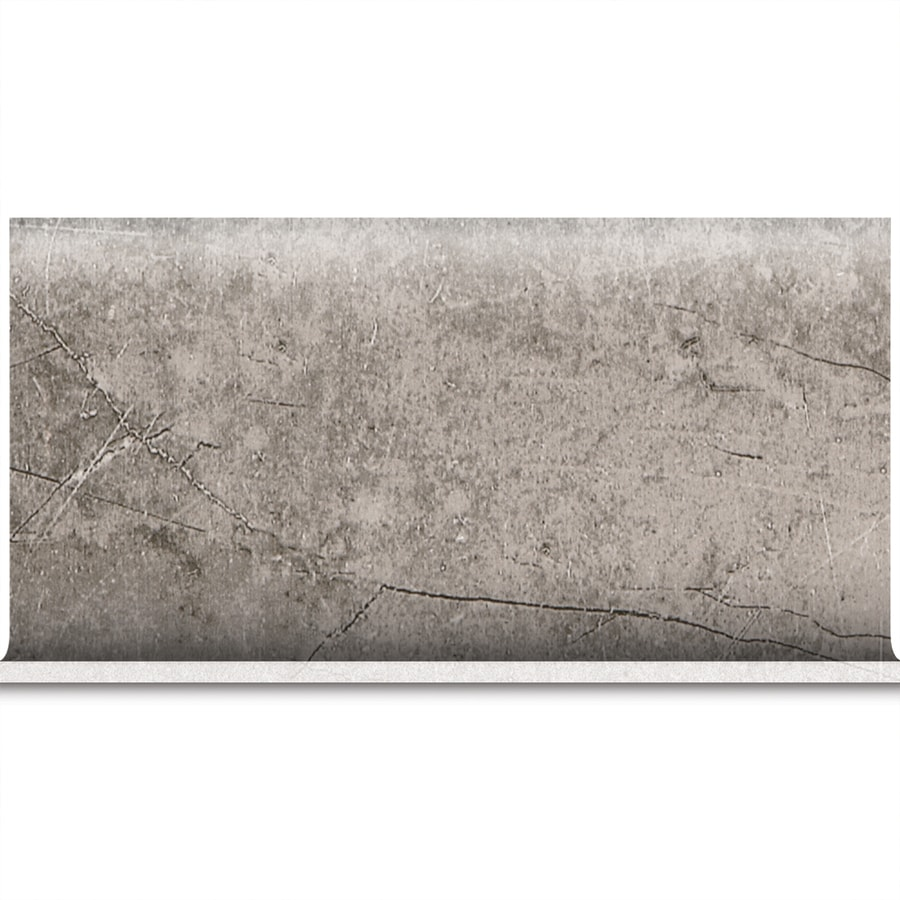 American Olean Bevalo Mist Ceramic Bullnose Tile (Common: 6-in x 12-in; Actual: 6-in x 12-in)