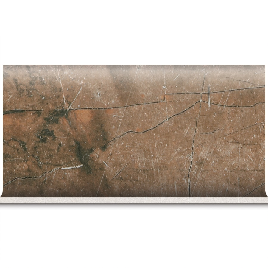 American Olean Bevalo Earth Ceramic Bullnose Tile (Common: 6-in x 12-in; Actual: 6-in x 12-in)