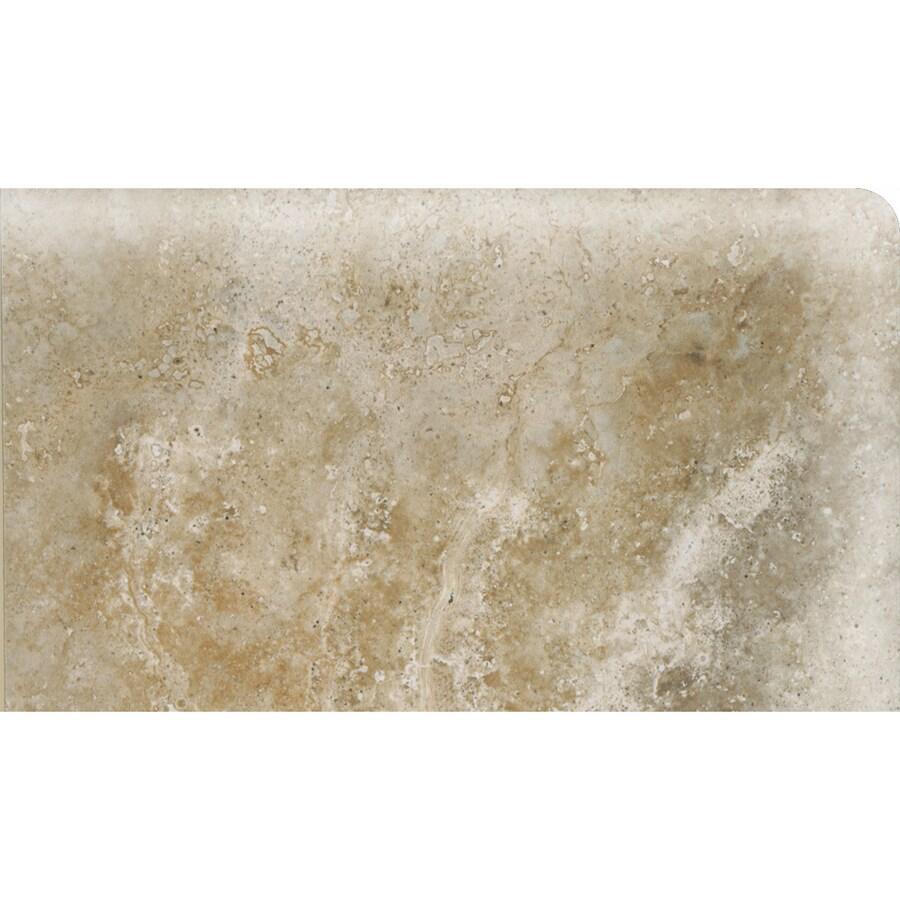 American Olean Stone Claire Bluff Ceramic Bullnose Corner Tile (Common: 3-in x 6-in; Actual: 3-in x 6-in)