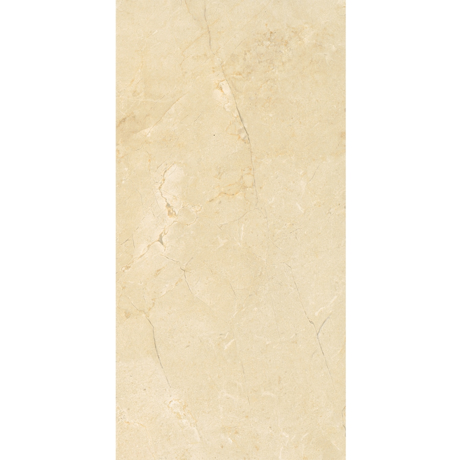 American Olean Mirasol 6-Pack Crema Laila Ceramic Wall Tile (Common: 12-in x 24-in; Actual: 11.62-in x 23.43-in)
