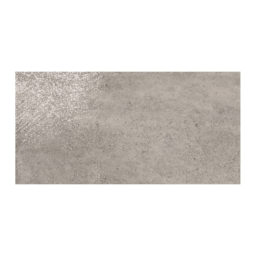 American Olean Colt 6-Pack Gray Thru Body Porcelain Floor and Wall Tile (Common: 12-in x 24-in; Actual: 23.625-in x 11.875-in)