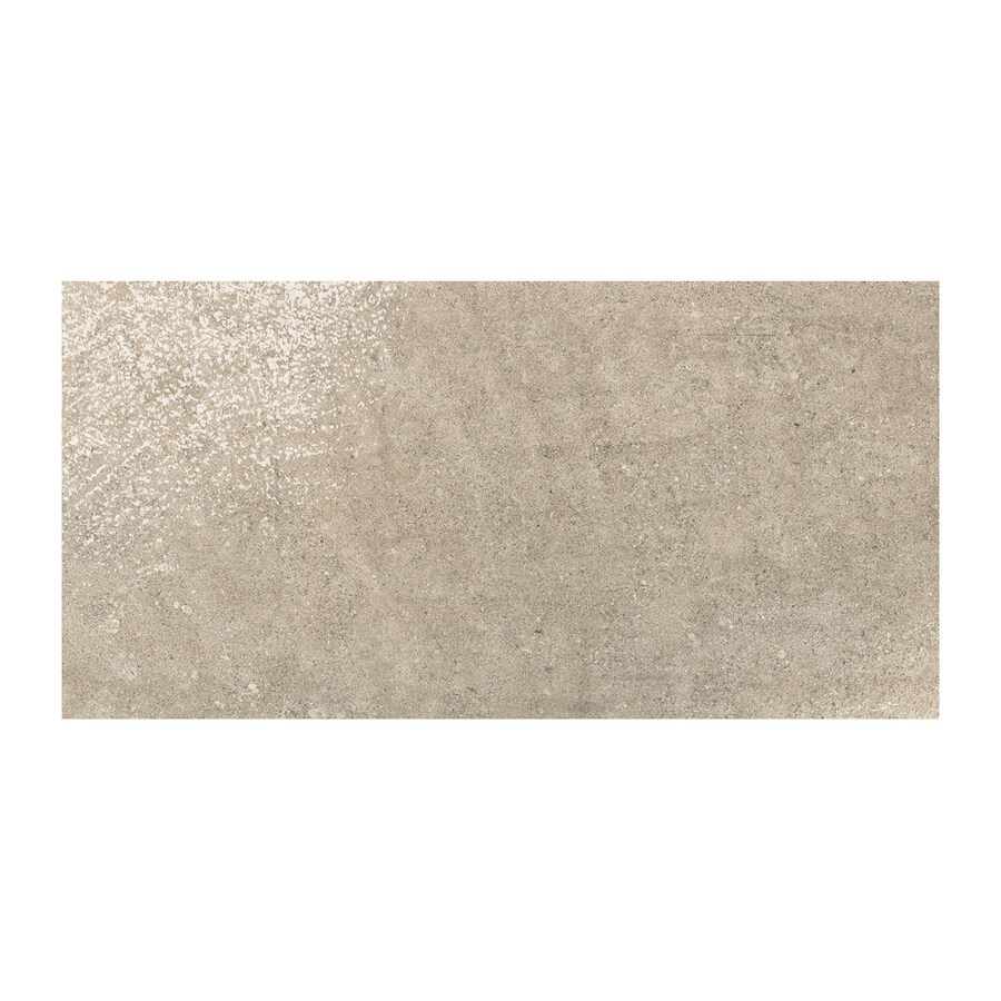 American Olean Colt 6-Pack Beige Thru Body Porcelain Floor and Wall Tile (Common: 12-in x 24-in; Actual: 23.625-in x 11.875-in)