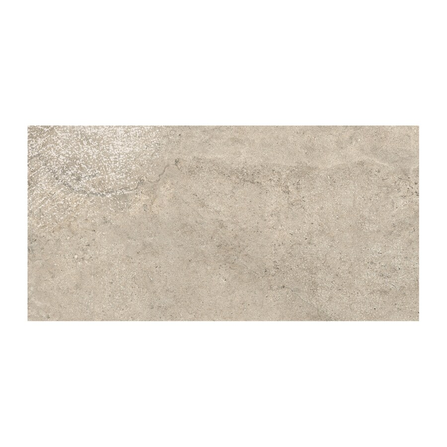 American Olean Colt 2-Pack Beige Thru Body Porcelain Floor and Wall Tile (Common: 18-in x 36-in; Actual: 35.42-in x 17.75-in)