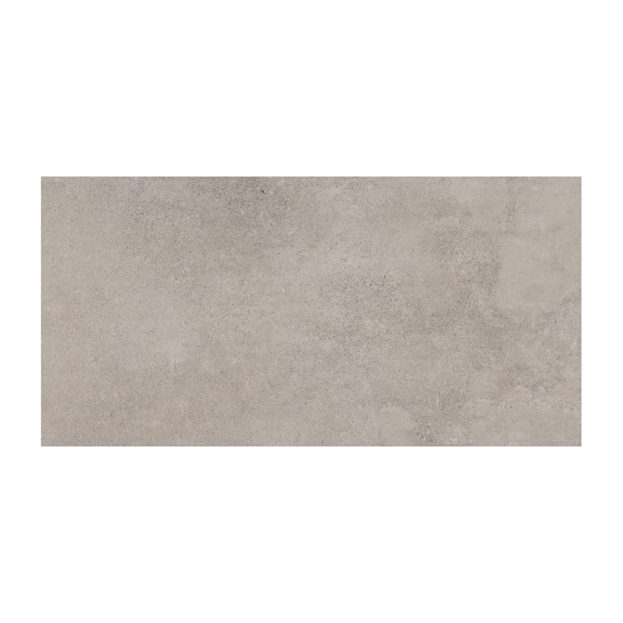 American Olean Colt 2-Pack Gray Thru Body Porcelain Floor and Wall Tile (Common: 18-in x 36-in; Actual: 35.42-in x 17.75-in)