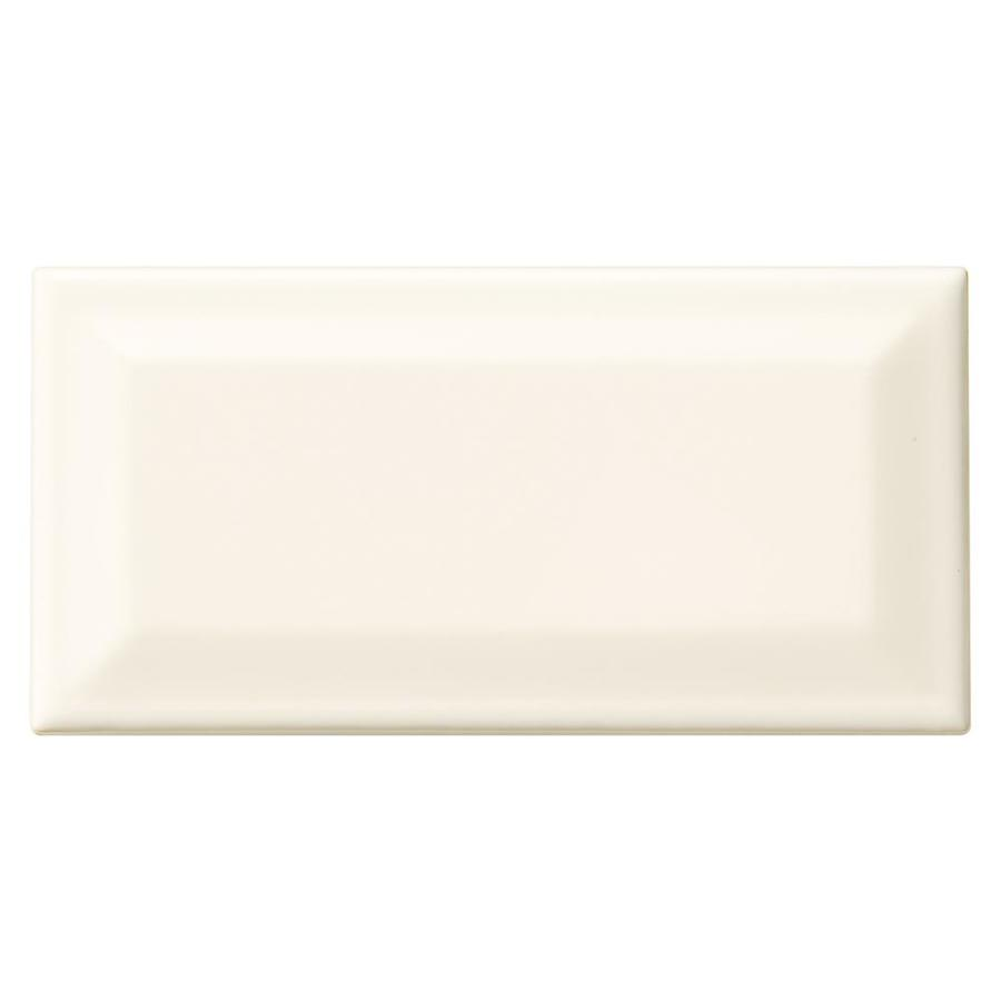 American Olean Profiles 80-Pack Biscuit Ceramic Wall Tile (Common: 3-in x 6-in; Actual: 6.03-in x 3.01-in)