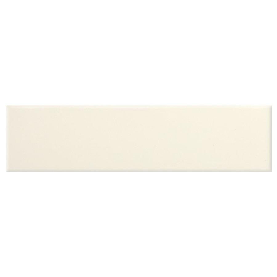 American Olean Urban Canvas 80-Pack Matte Biscuit Ceramic Wall Tile (Common: 2-in x 8-in; Actual: 8.5-in x 2.12-in)