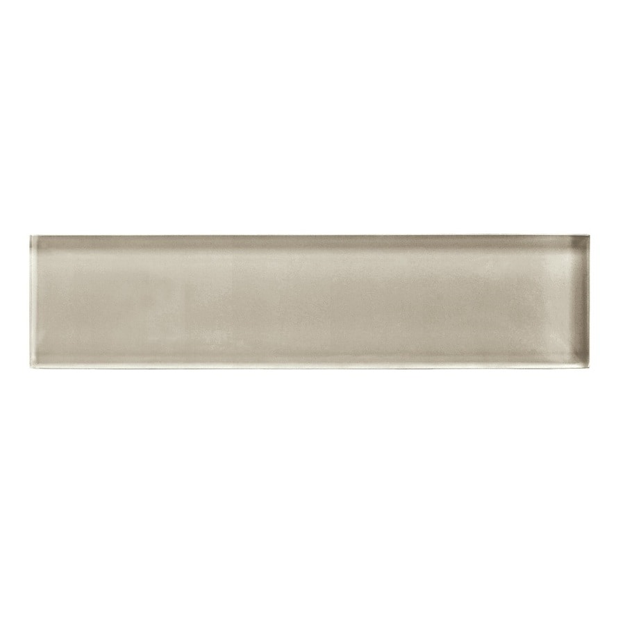 American Olean Color Appeal Oxford Tan Glass Wall Tile (Common: 2-in x 8-in; Actual: 1.87-in x 7.87-in)