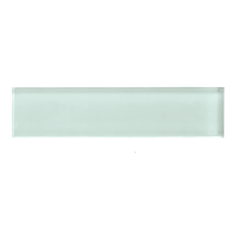 American Olean Color Appeal Vintage Mint Glass Wall Tile (Common: 2-in x 8-in; Actual: 1.87-in x 7.87-in)